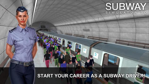 Subway Simulator 3D poster