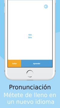 Aprende palabras en Sueco con Vocly captura de pantalla 1