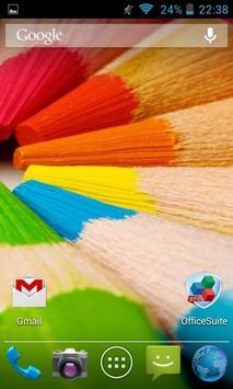 Wooden, Wonderful, Colored Pencils. HD screenshot 1
