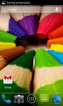 Wooden, Wonderful, Colored Pencils. HD screenshot 2