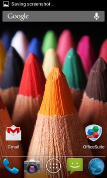 Wooden, Wonderful, Colored Pencils. HD screenshot 3