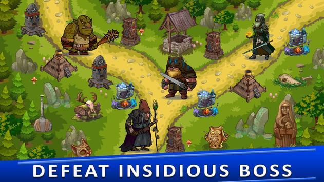 Tower Defense Games - GOLDEN LEGEND captura de pantalla 4