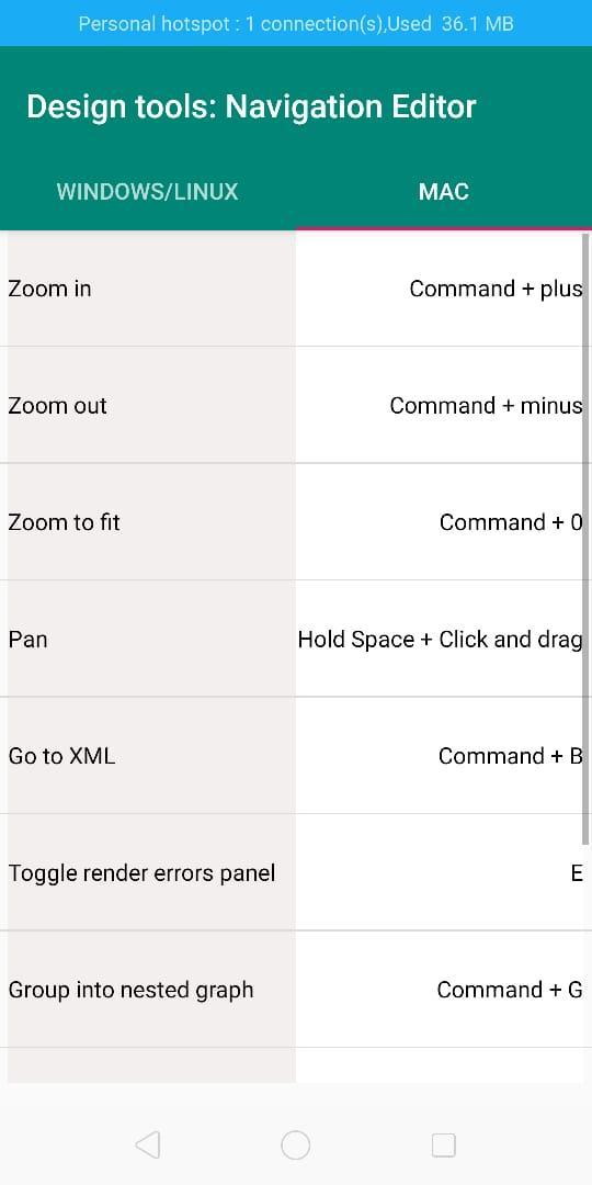 Android Studio keyboard shortcuts for Android - APK Download
