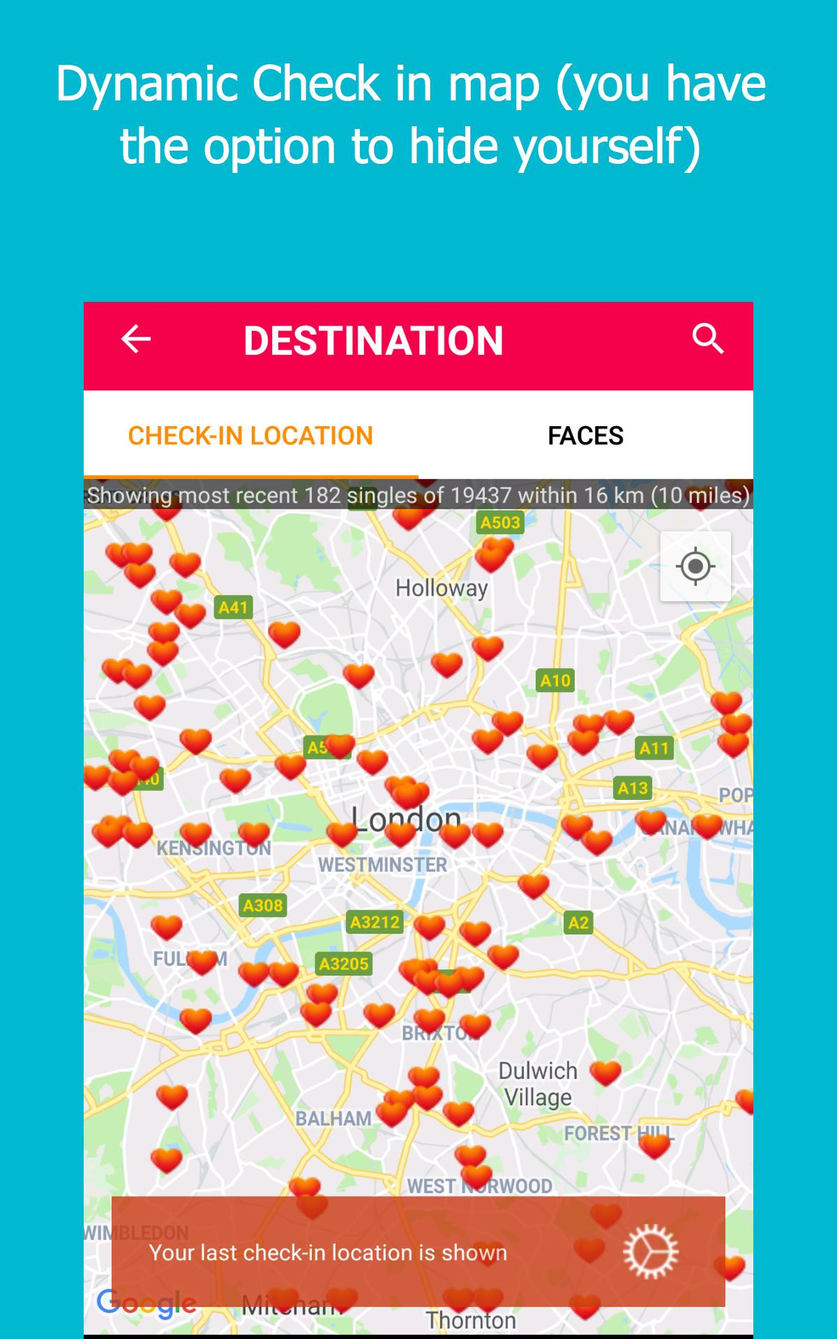 gps dating app android