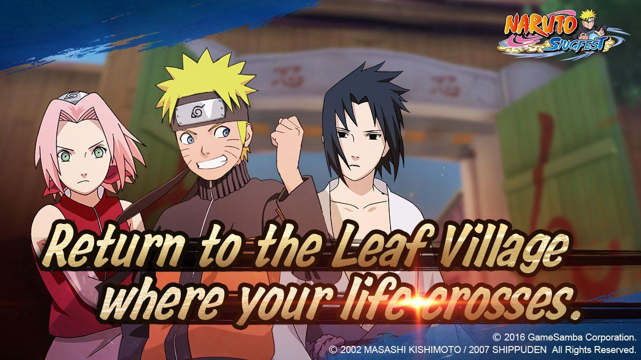 Download permainan gem Naruto: Slugfest