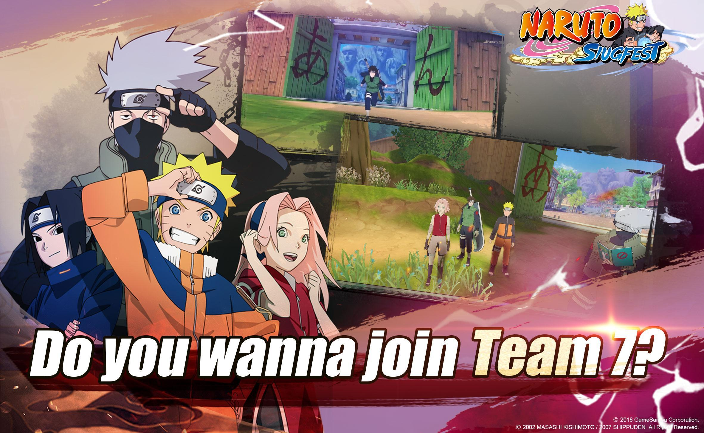 Website download game gratis Naruto: Slugfest