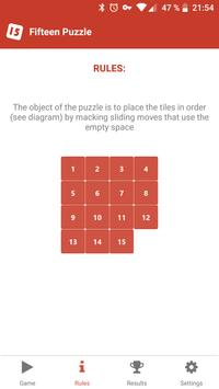 Fifteen Puzzle screenshot 1