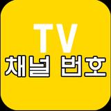 채널 번호, TV 편성표 안내