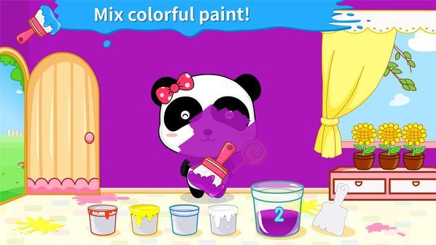 Baby Panda's Color Mixing Studio screenshot 1