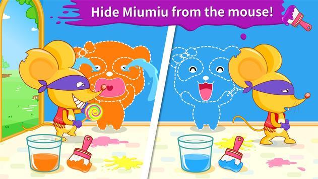 Baby Panda's Color Mixing Studio screenshot 2