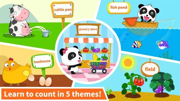 Baby Panda Learns Numbers screenshot 8