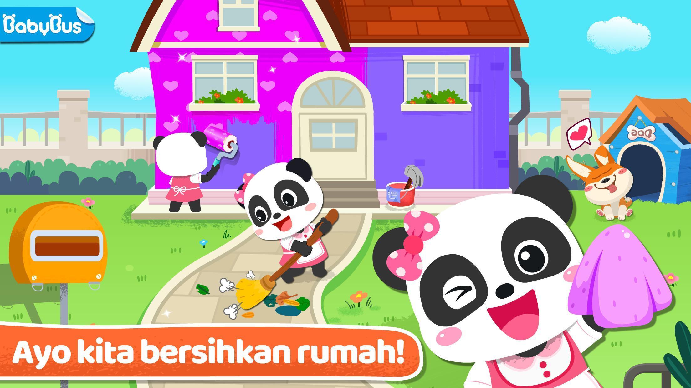 Membersihkan Rumah Bayi Panda For Android APK Download