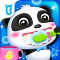 Baby panda toothbrush