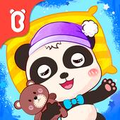 ikon Kebiasaan Baik Panda Kecil