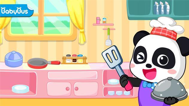 My Baby Panda Chef-poster