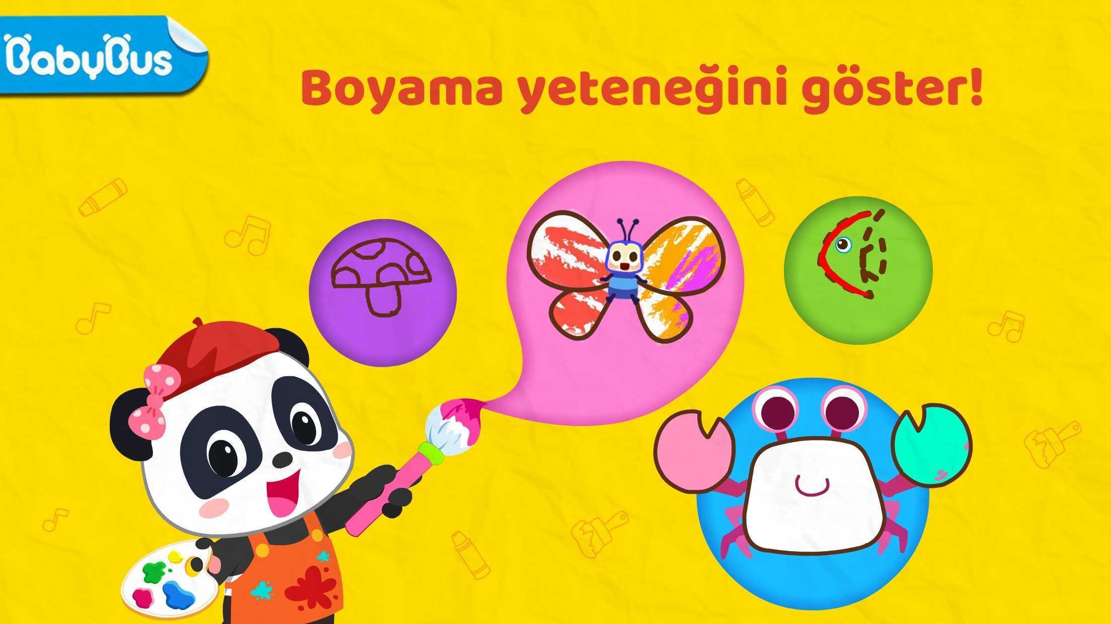 Android Icin Bebek Panda Nin Sanat Sinifi Muzik Ve Resim Apk Yi