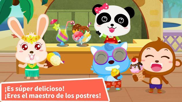 Heladería del Panda Bebé captura de pantalla 3