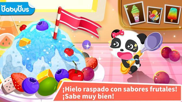 Heladería del Panda Bebé captura de pantalla 10