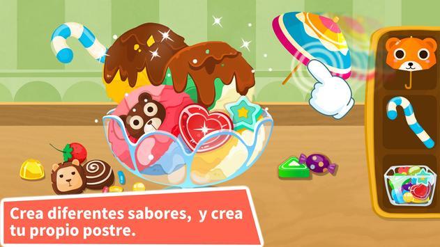 Heladería del Panda Bebé captura de pantalla 2