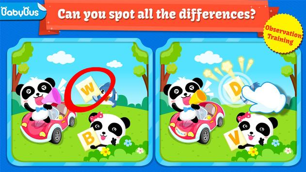 Little Panda Treasure Hunt - Find Differences Game poster