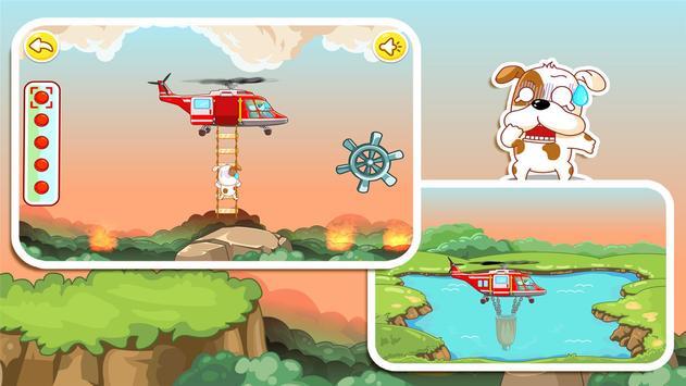 パンダの消防士ーBabyBus 子ども・幼児教育アプリ スクリーンショット 1