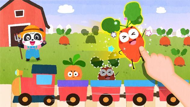Ladang Buah Bayi Panda screenshot 2