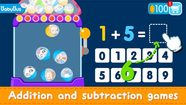 Little Panda Math Genius - Education Game For Kids poster