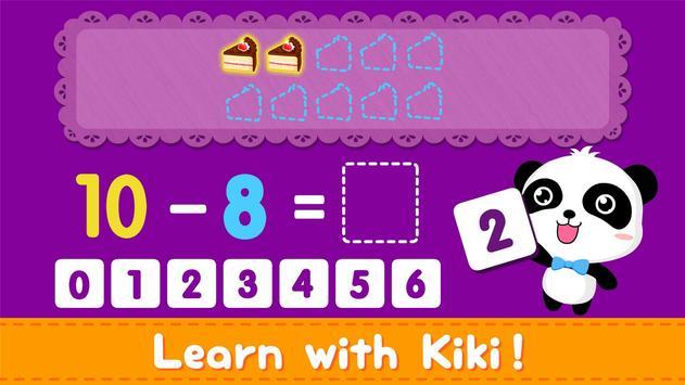 Little Panda Math Genius - Education Game For Kids screenshot 12
