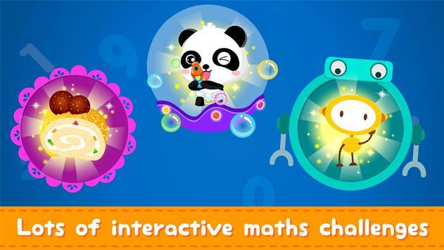 Little Panda Math Genius - Education Game For Kids screenshot 1