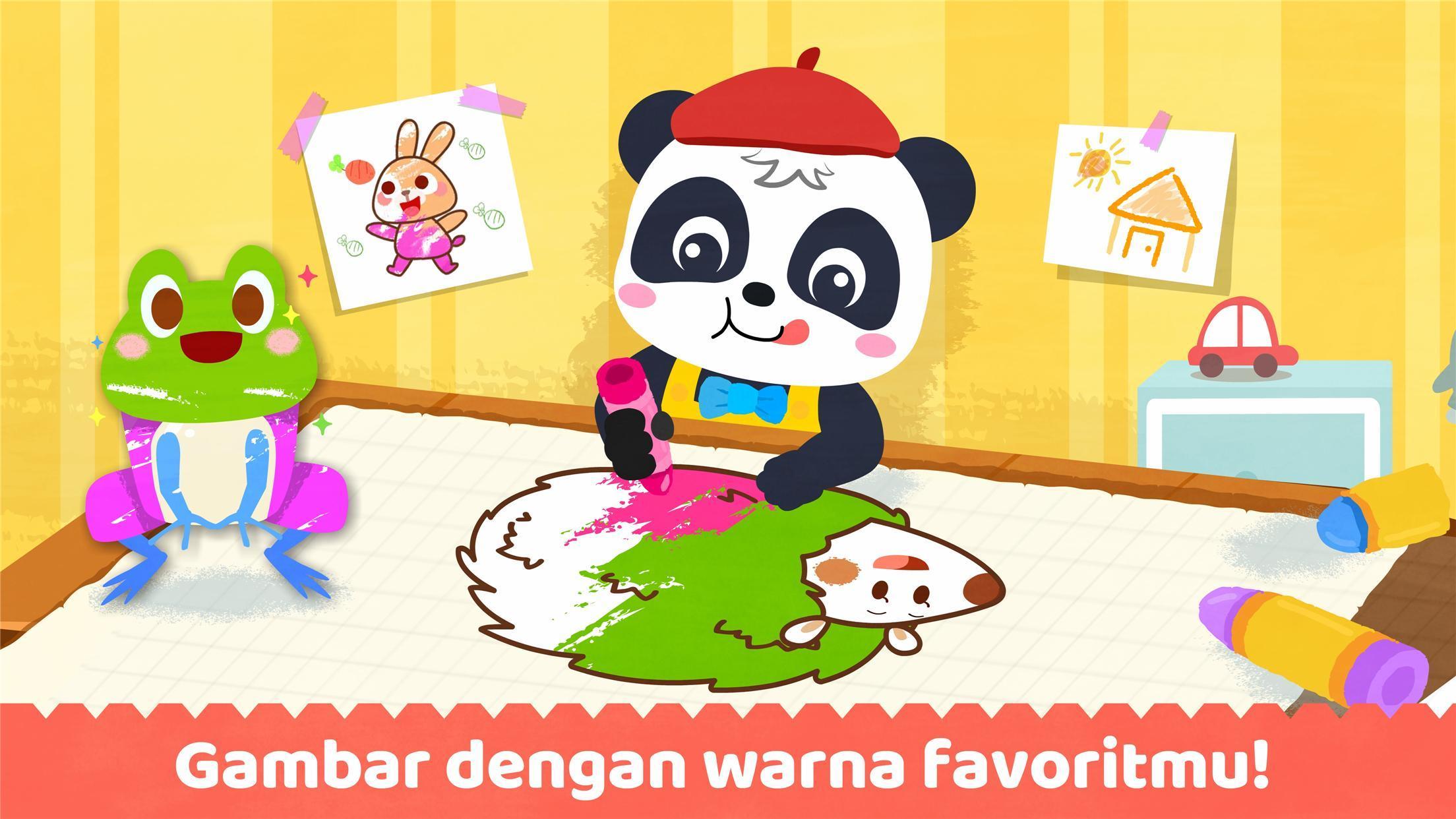 Buku Mewarnai Bayi Panda For Android APK Download
