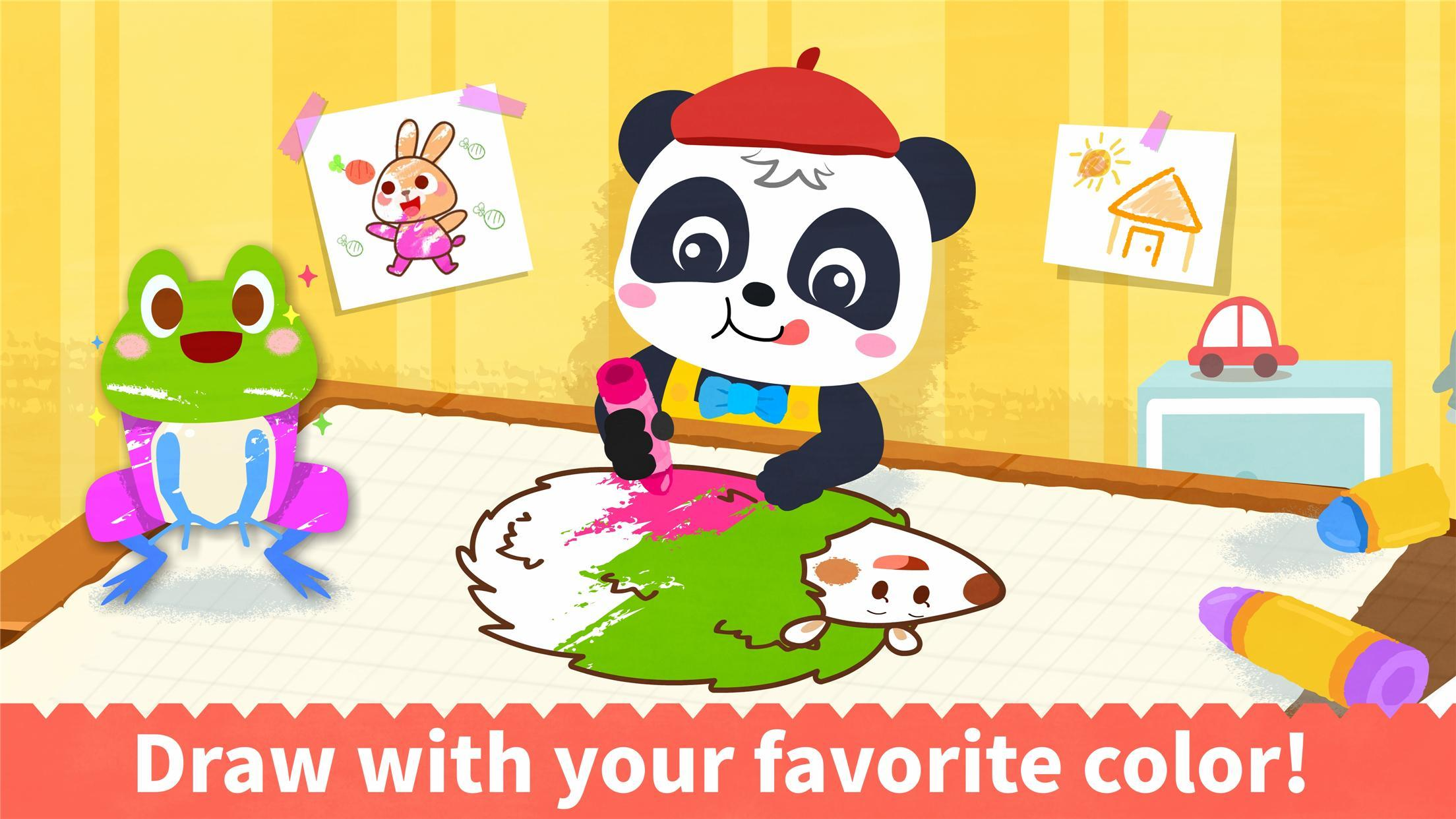Baby Panda S Coloring Book For Android Apk Download