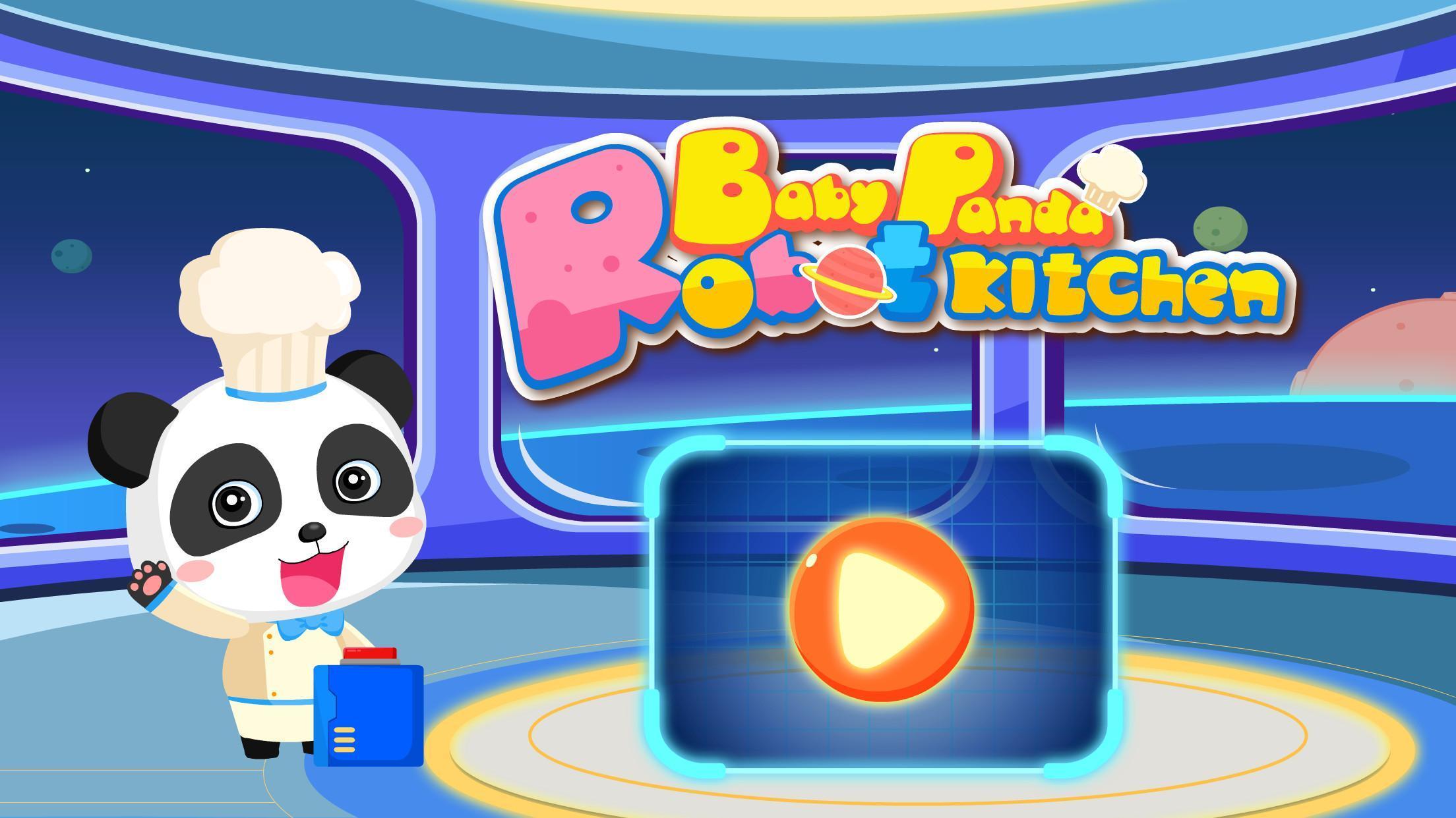 Robotyczna Kuchnia Małej Pandy Dla Dzieci For Android