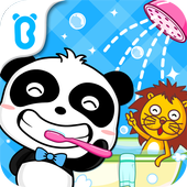 Healthy Little Baby Panda icon