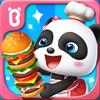 Pequeno panda Restaurante ícone
