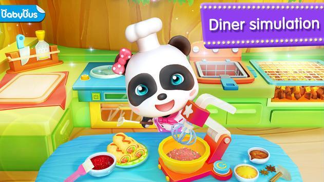 Panda Kecil Restoran poster