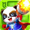 ikon Game Pertempuran Hero Panda Kecil