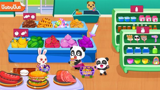 बेबी पांडा का सुपरमार्केट स्क्रीनशॉट 10