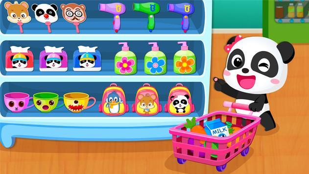 बेबी पांडा का सुपरमार्केट स्क्रीनशॉट 1