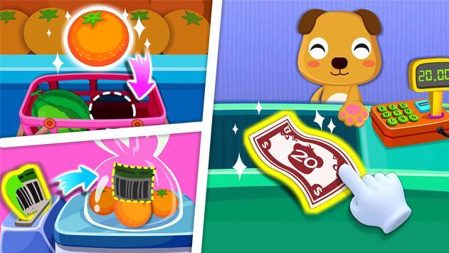 बेबी पांडा का सुपरमार्केट स्क्रीनशॉट 2