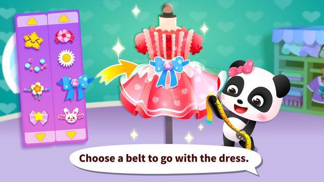 Juego para vestirse a la moda del Panda bebé captura de pantalla 3
