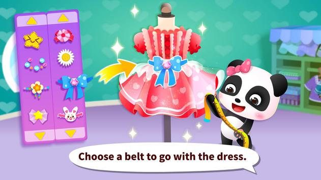 Juego para vestirse a la moda del Panda bebé captura de pantalla 15