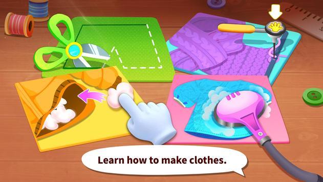 Juego para vestirse a la moda del Panda bebé captura de pantalla 1
