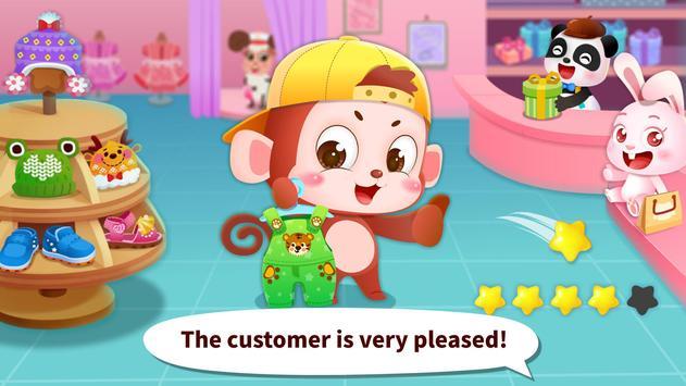 Juego para vestirse a la moda del Panda bebé captura de pantalla 4