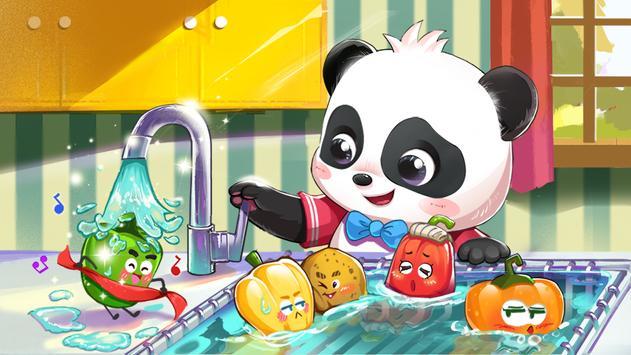 Le Monde de Bébé Panda Affiche