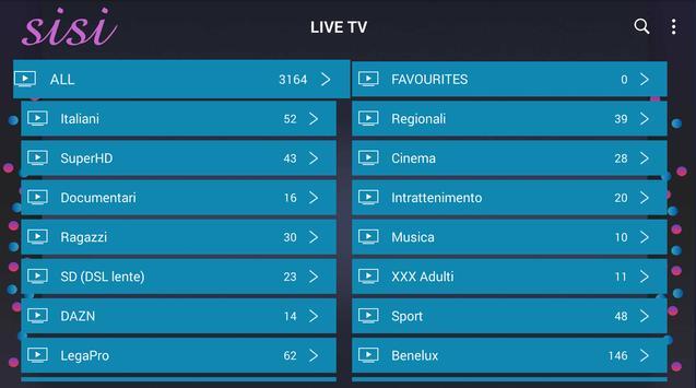 Sisi IPTV Player screenshot 1