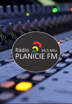 Rádio Planicie FM 89.5 poster