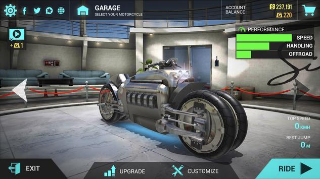 Ultimate Motorcycle Simulator captura de pantalla 1