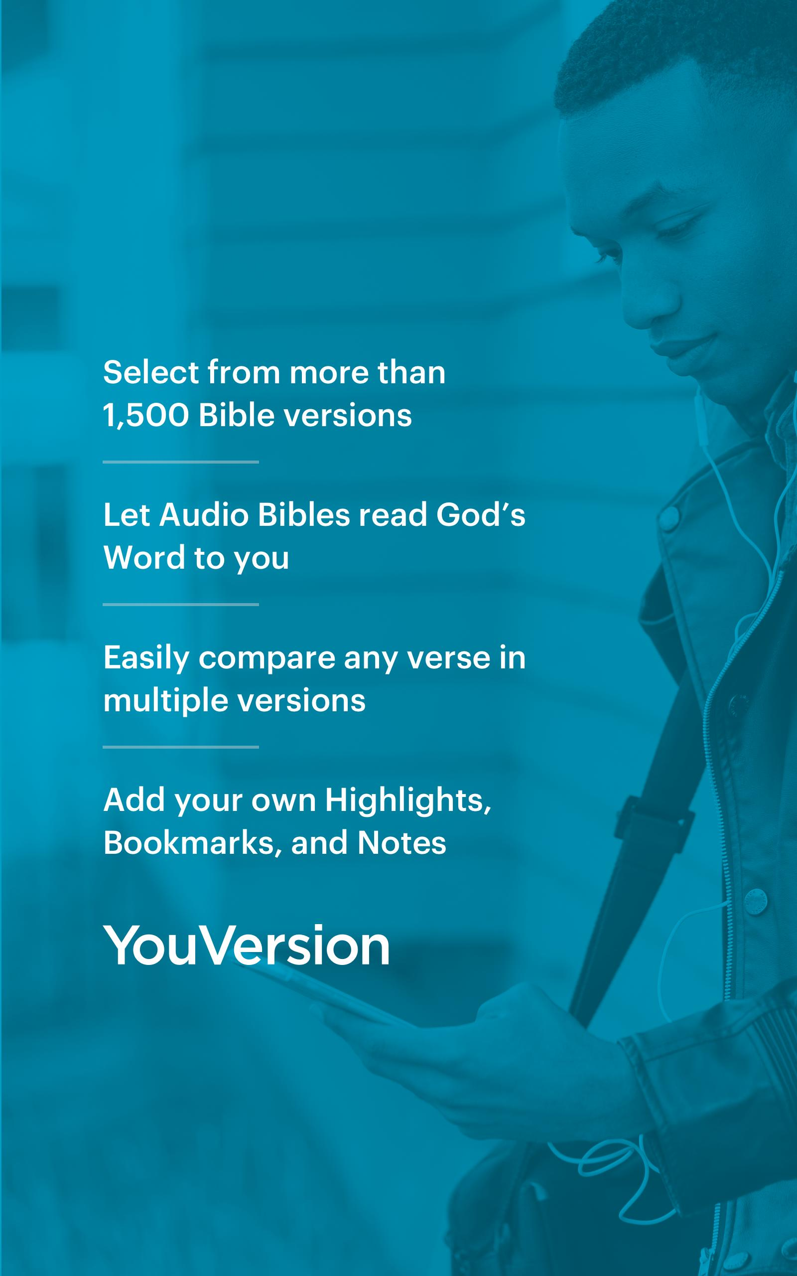 YouVersion Bible App + Audio, Daily Verse, Ad Free for