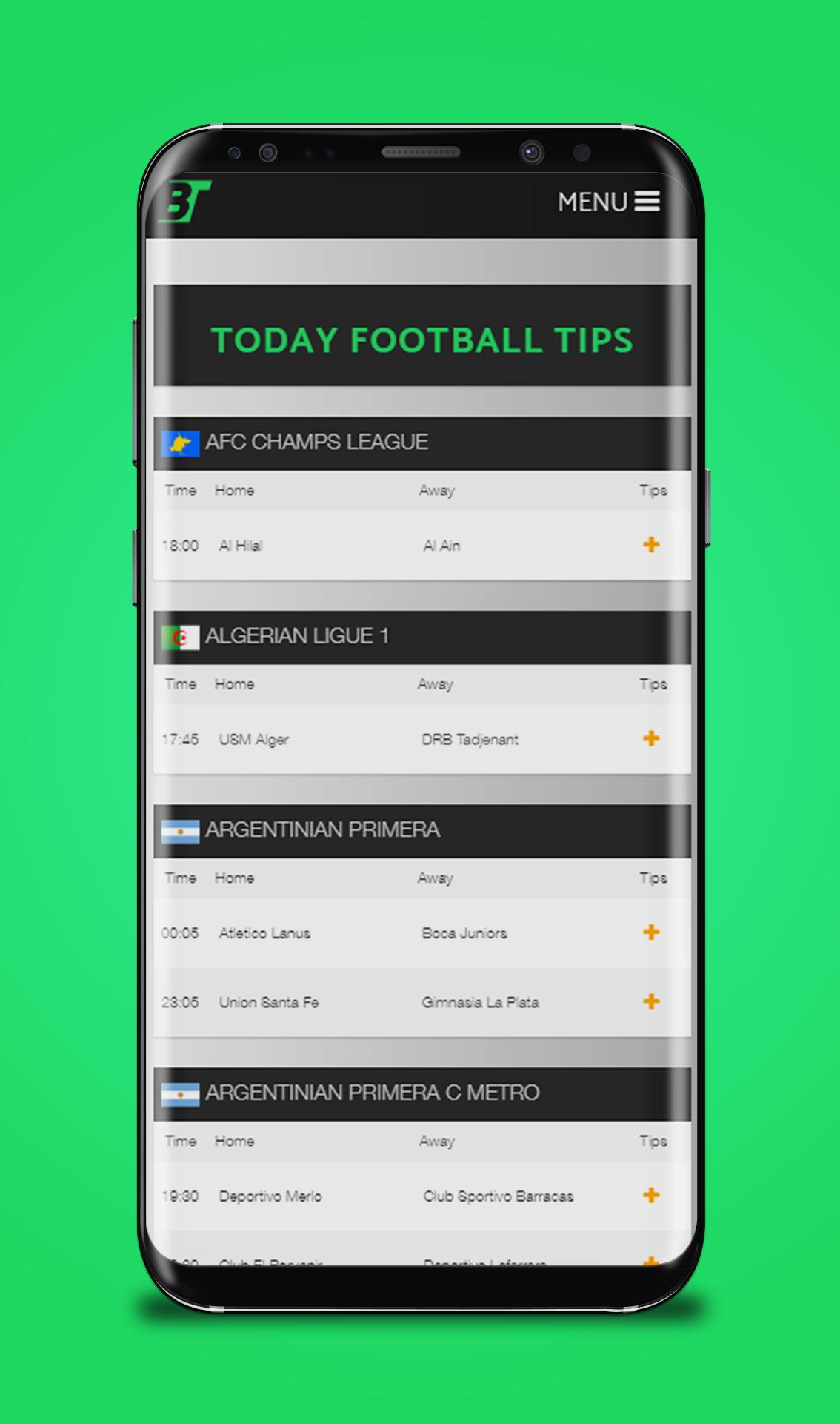 Soccer Predictions App for Android - APK Download