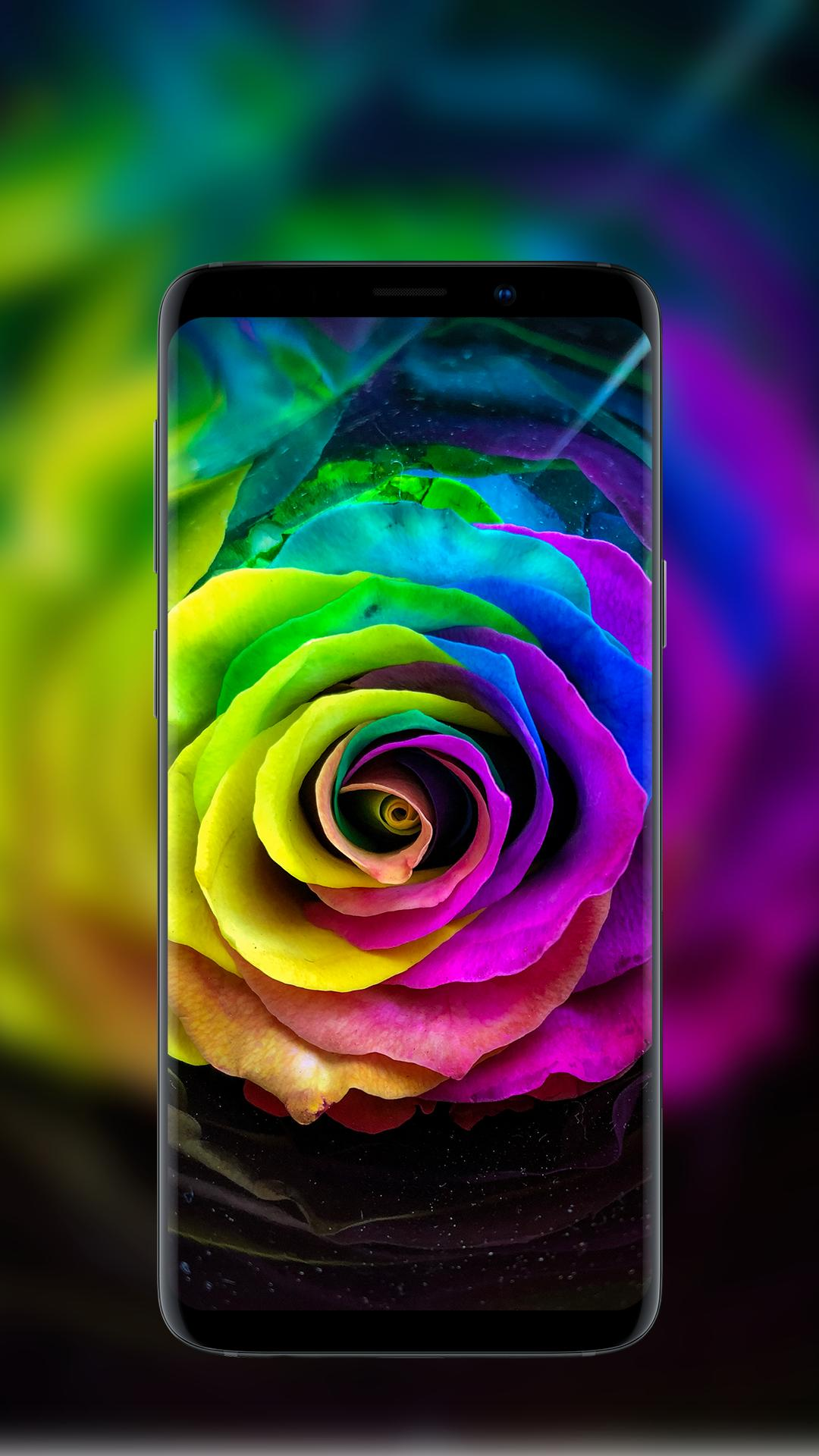 wallpaper for mobile colorful flower